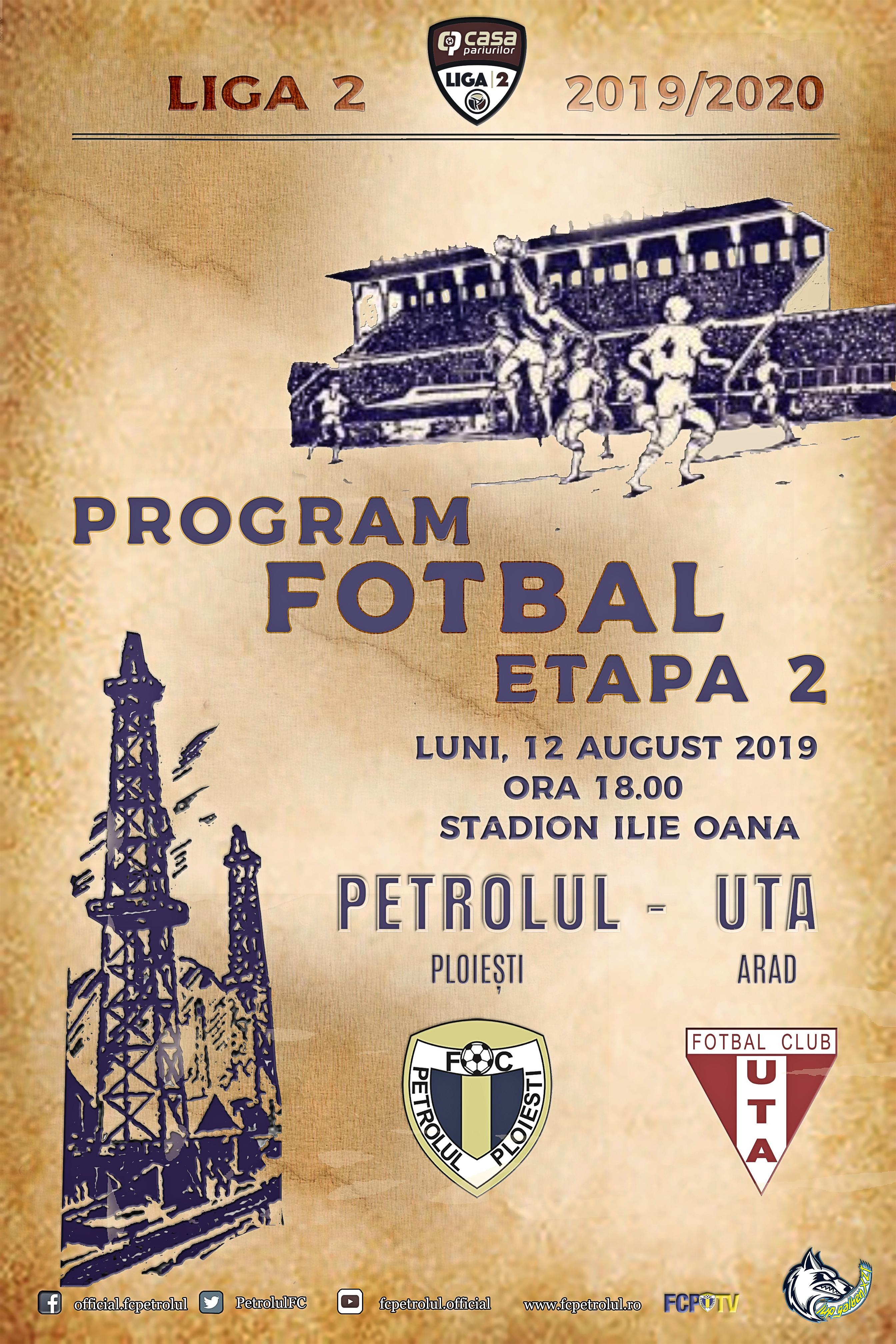 Liga 2: UTA Arad, victorie cu Petrolul Ploieşti, scor 3-0 ...  |Uta Petrolul